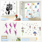 Angel Elves Fairy Home Room Decor Removable Wall Stickers Decal Decoration