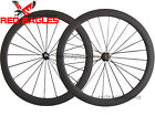 Free shipping 700C 50mm Clincher carbon bike wheels bicycle road wheelset