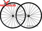 23mm width 24mm Clincher carbon bicycle wheelset with Novatec hub