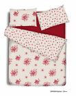 Duvet Cover Set with Pillowcase / Quilt Cover Bedding Set Emily Red & Blue