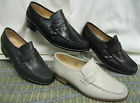 Mens Grenson Clapham Leather moccasin Slip On shoes.