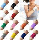 Sweatbands Terry Cloth Cotton Power WristBand Sports/Yoga/Workout/Running EY