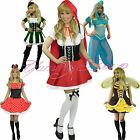 Fancy Dress Costume Princess Mouse Bee Red Riding Robin Hood Plus Size Fairytale