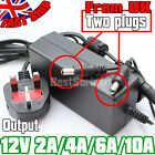 DC 2A/4A/6A/10A 12V Adapter Power Supply for 5050 3528 LED Strip Roll