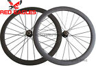 Disc brake 50mm Tubular carbon cyclocross wheels thru axle hub 20.5mm,23mm,25mm
