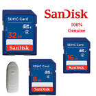 SanDisk 8GB 16GB 32GB SD SDHC Secure Digital Memory Card for Camera GPS Tablet