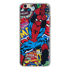 Custom Comics Spiderman Cool Flying For iPhone 6/6S 6/6S Plus Phone Case Cover
