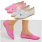 2scd0899 pointed toe eye canvas flat loafer Made in korea US9 Available