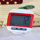 LCD Pedometer Tracker Step Counter Walking Calorie Distance Calculation Counter