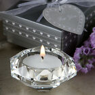 CRYSTAL DIAMOND CANDLE HOLDER FAVOR. 50, 75, 100 OR 125 PCS.