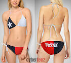 Texas Flag Womens Bikini Two Piece String Swimsuit Dont Mess With Texas
