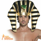 Adult Egyptian Pharaoh Headpiece Fancy Dress Costume Accessory New