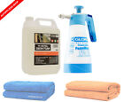 Gloria FoamMaster FM10 + Snow Foam bzw. Shampoo + optionales Trocknungstuch