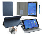 7* - 8* Pu Leather Case Cover Wallet Folio for Various Tablets & Stylus Pen