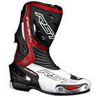 RST Tractech Evo Motorcycle Sports Race Boots - Red