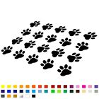 20x CAT DOG PAWS CAR LAPTOP WALL DOOR PHONE DECAL STICKERS WINDOW FRIDGE