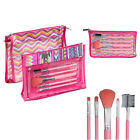Royal Girls On The Go  Brush Set and Travel Makeup Bags