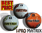 *BRAND NEW* IPRO MATRIX SOFT TOUCH FOOTBALL - SIZES 3,4,5