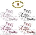 LITTLE PRINCESS ARC LR THERMOCOLLANT HOTFIX DIAMANTE CRISTAL BLING APPLIQUES