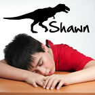 Custom Personalized Name and Dinosaur Wall Decal Sticker - DinosaurCust01