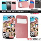 PERSONALISED Smart Flip Case Cover for iPhone 4S 5,Galaxy S3,S4,S5 Note 2,Note 3