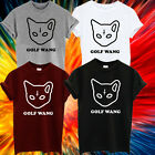 OFWGKTA ODD FUTURE GOLF WANG TYLER THE CREATOR T SHIRT YOUNG MONEY TUMBLR CAT