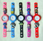 TEEN TITANS JIBBITZ BAND WATCH & 2 CHARMS,BOX AVAILABLE IF NEEDED