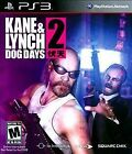 ps3 Kane and Lynch 2: Dog Days complete
