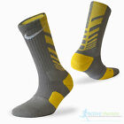 Nike Mens Ladies Elite Dri Fit Cushioned Sports Crew Socks Running Basketball