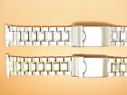 Stainless Steel and Two-Tone Watch Strap Bracelet, 18mm 19mm 20mm 21mm 22mm