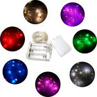 Outdoor/Indoor Battery Powered LED Fairy String Lights Garden Wedding Party FOK