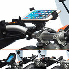 Motorcycle Handlebar Clamp Bolt Mount + Universal Holder for Apple iPhone 6 Plus