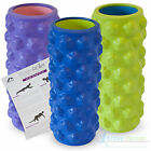 More Mile Trigger Point Foam Roller Grid Sports Massage Exercise Yoga Physio Gym