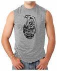 Distressed Grenade - Army Military Weapons Men's SLEEVELESS T-shirt