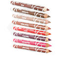 Laval Lip Definer Liner Pencil Soft Bright Dark Pink Red Plum Nude Brown