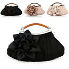 Women New Wedding Clutch Evening Bag Bridal Party Ladies Chain Purse Handbag