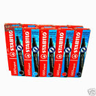 Stabilo EASYoriginal Refills 2x3 Packets in Black Blue Red Lilac Turquoise 6890