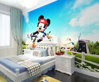 3D Mickey Mouse 1 Wall Paper Wall Print Decal Wall Deco Indoor Wall Murals Wall