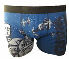 Star Wars Men's Blue Boxer Shorts Small