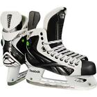 NEW REEBOK WHITE K JUNIOR HOCKEY SKATES