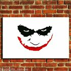 JOKER BATMAN COOL FILM CANVAS WALL ART BOX PRINT PICTURE SMALL/MEDIUM/LARGE