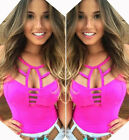 Sexy Women Ladies Summer Vest Tank Top Sleeveless Blouse Casual Shirt Clubwear