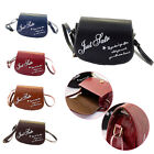 Retro Faux Leather Letter Mini Girl Small Adjustable Shoulder Bag Handbag packet