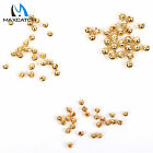 Slotted Tungsten Beads Gold Fly Tying Head Ball 3 Size Hook Sinking 25 Pcs/pack