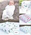 "NEW Aden & Anais 100% Muslin Cotton SwaddleMe Baby Blanket - 47"" x 47"""