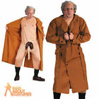 Dirty Old Man Flasher Costume Rude Old Man Stag Party Fancy Dress Outfit