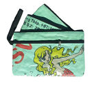 Fair Trade Fish Feed Recycled 3in1 Pencil Case or Purse with strap from Cambodia