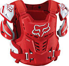 2016 Fox MX Raptor Armour - Red Motocross Roost Race Trail Offroad