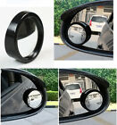 1Pair Car Rearview Blind Spot Side Rear View Mirror Convex Wide Angle Adjustable