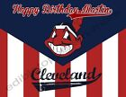 Cleveland Indians Personalized Edible Print Cake Toppers Frosting Sheets 5 Sizes